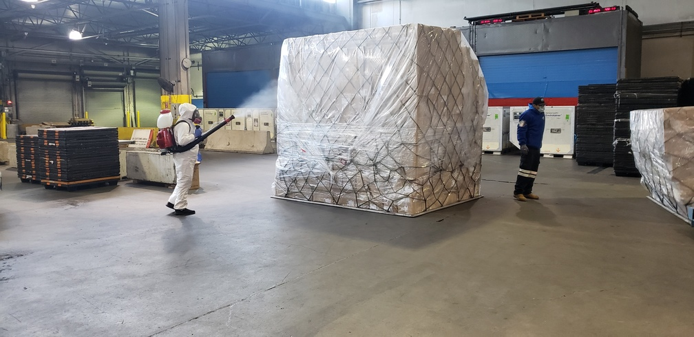 Atlas Air PPE shipment for USPS