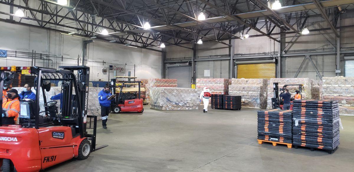 Atlas cargo staging