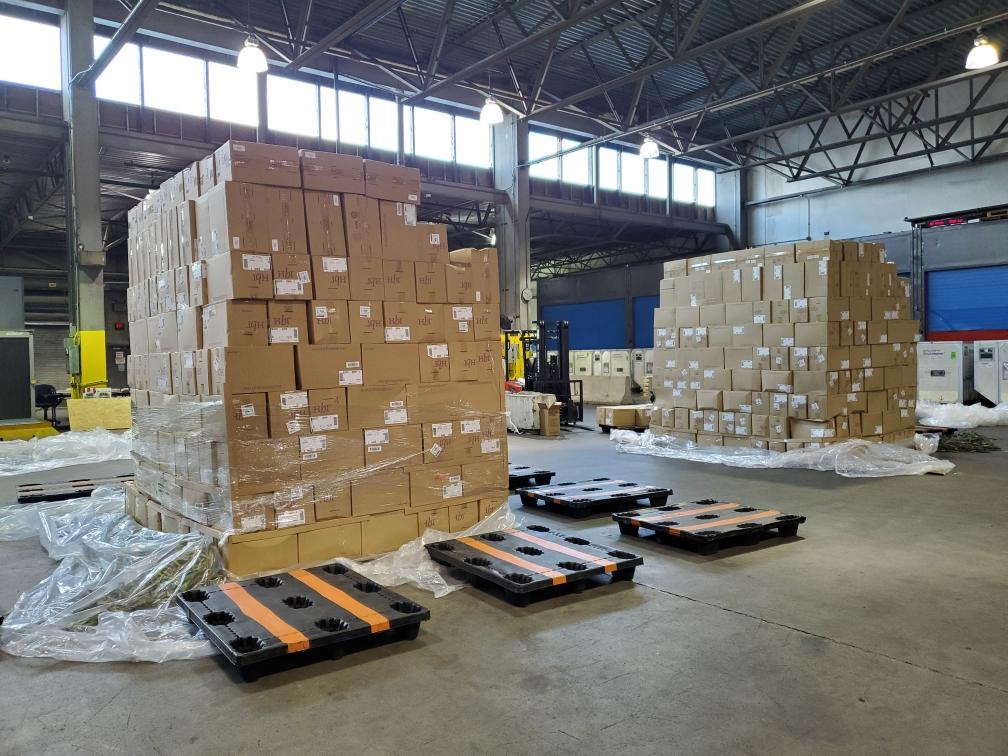 Atlas cargo breakdown